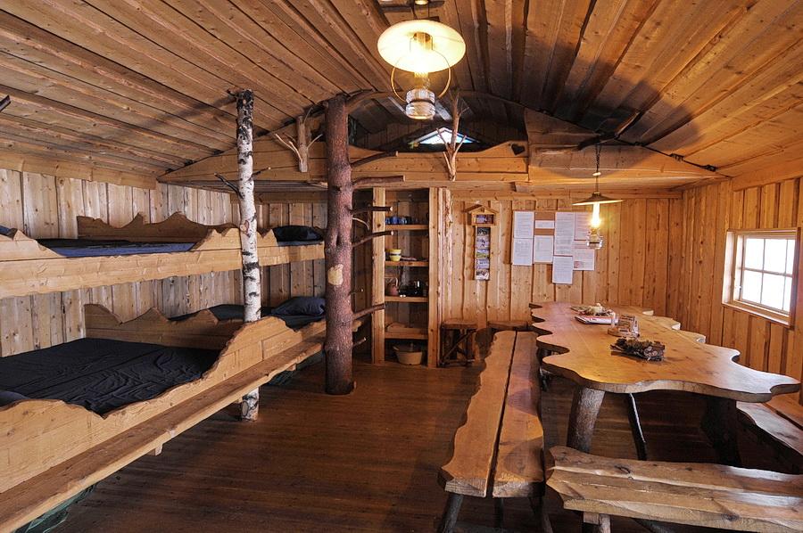 Holzfällerhütte - Solberget